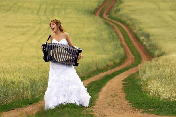 Новые обряды современного бракосочетания