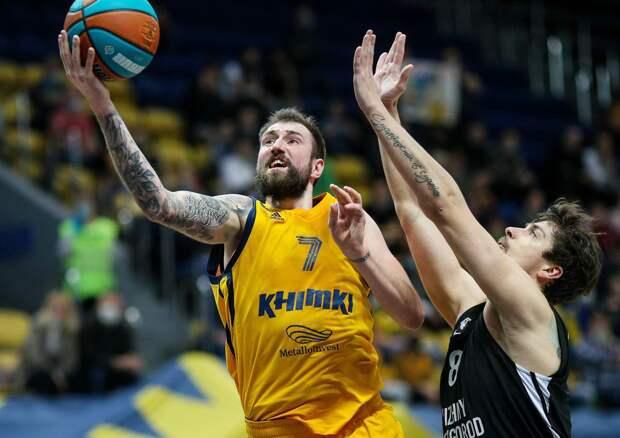 Баскетбольный клуб «Нижний Новгород» одержал шестую победу подряд в Единой лиге ВТБ