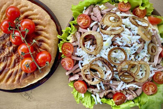 Фото к рецепту: Салат ташкент