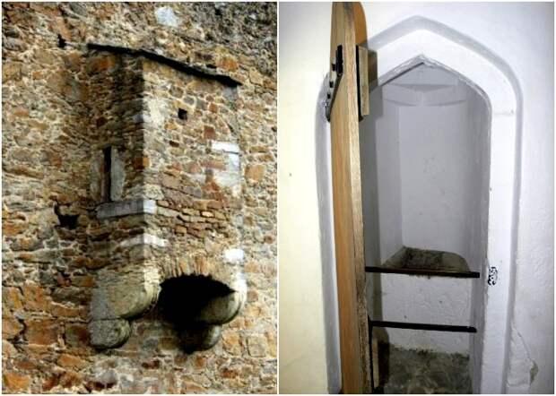 Отхожие места в средневековых замках были небольшими, малокомфортными и неприятно пахнущими. /Фото: semiestrel.ru