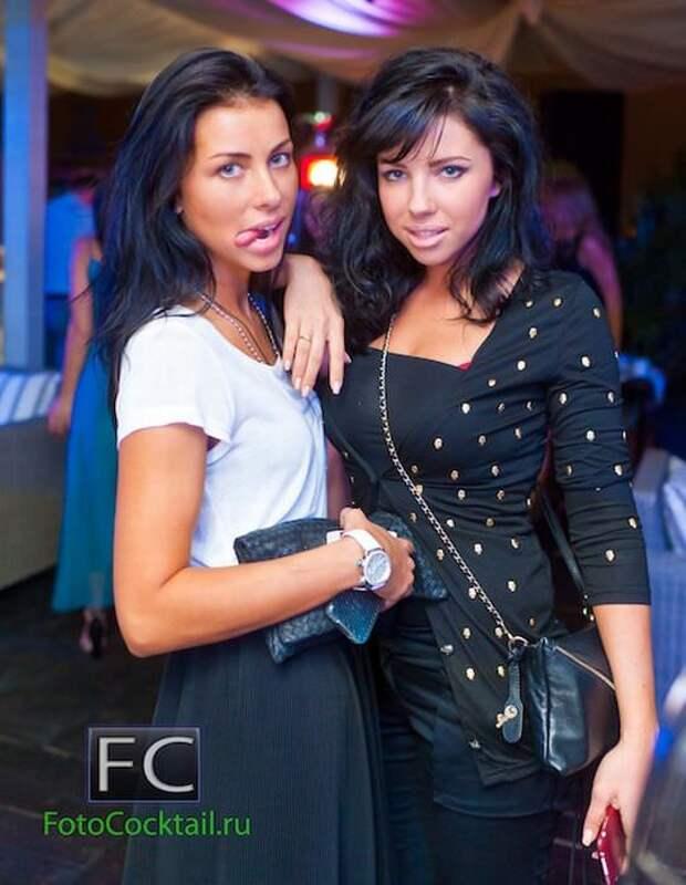 Гламурные девушки из Московских клубов