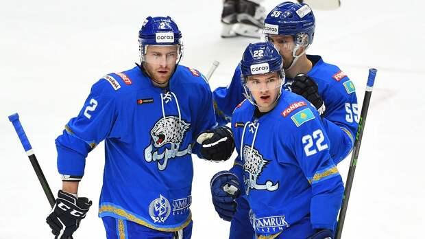 """""""Барыс"""" победил """"Металлург"""" во втором матче плей-офф КХЛ и сравнял счет в серии"""