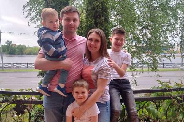 Большие семьи привыкли все делать вместе