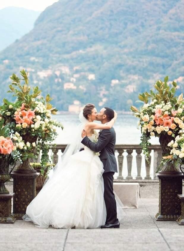 Свадьба Крисси Тейген и Джона Ледженда