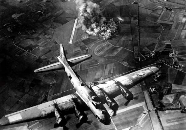 Ударные волны бомбардировок Германии Второй мировой достигали ближнего космоса