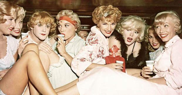 """История создания хита 1959 года """"В джазе только девушки"""" интересное, факты, фильмы"""