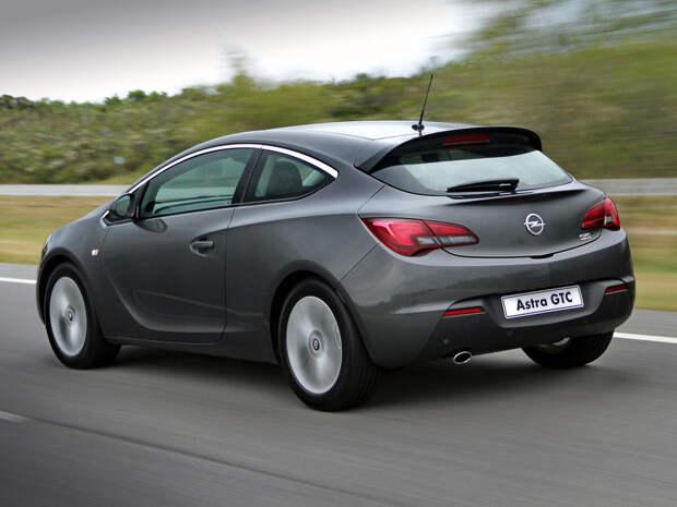 Обзор Opel Astra GTC