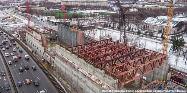 Собянин назвал главные строительные итоги 2020 года. Фото: В.Новиков