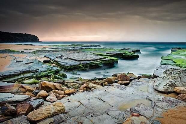 Пляж Туриметта: хмурый, но такой прекрасный