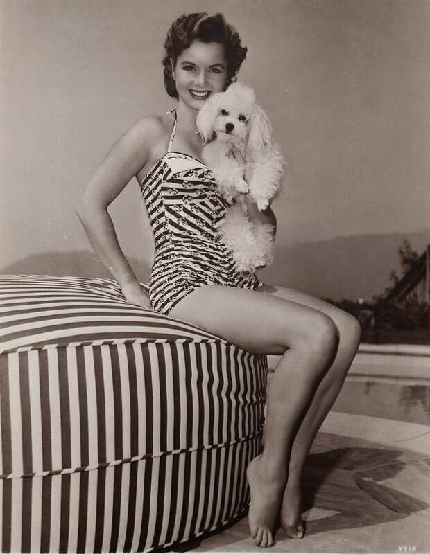 Купальные костюмы американской актрисы Дебби Рейнольдс, 1950-е годы.