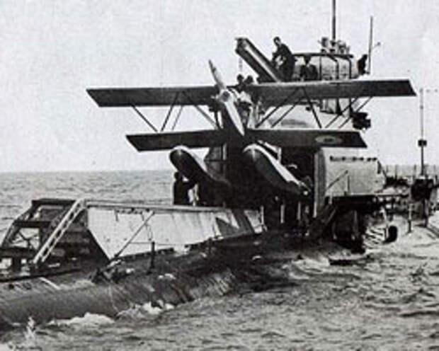 Британская субмарина HMS M2, 1933 год (фото:The Air and Sea Co)