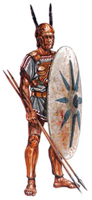 Самнитский воин