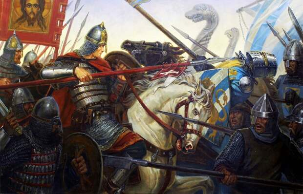Крестовые походы на Русь. Первый удар