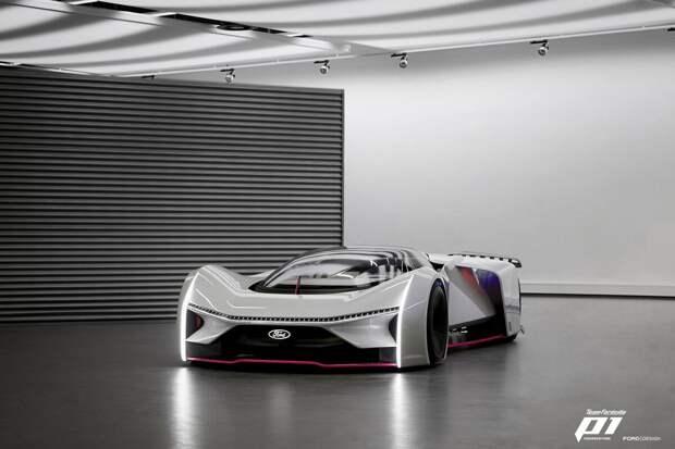 Новый FORD P1 Fordzilla, дизайн которой был разработан совместно с Twitter