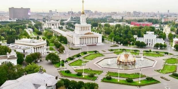 Собянин оценил ход работ в рамках масштабной реконструкции ВДНХ