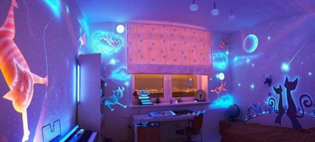Хенд мейд идеи для дома своими руками - рисунки на стенах