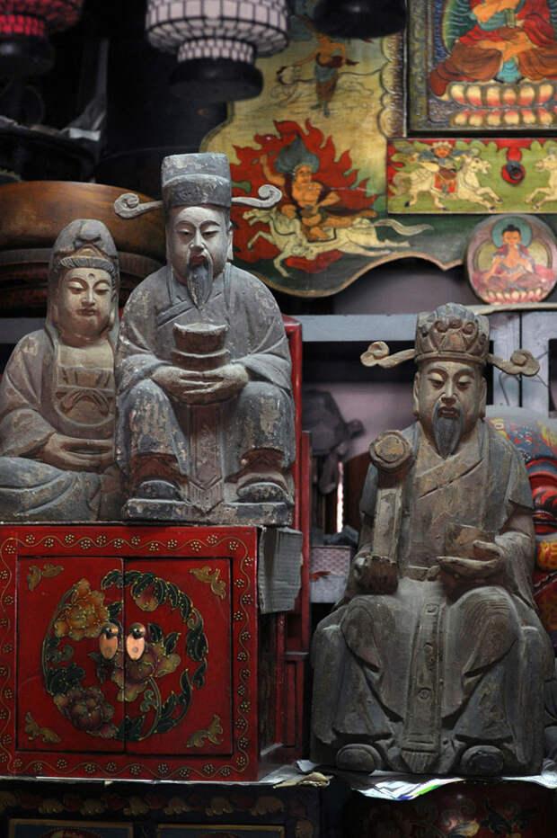 Блошиные рынки Пекина
