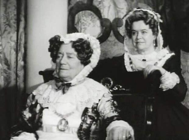 кадр из фильма «Старый дом», 1969 год (Л. Королёва справа)
