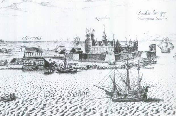 Крепость Кронеборг в датском Зунде, XVI век - Датский флот Нового времени: становление | Warspot.ru
