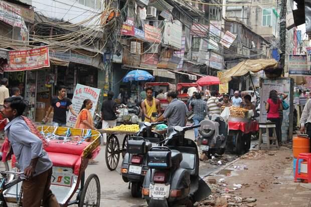 «Тракторная демонстрация» в Нью-Дели обернулась задержанием более чем 200 участников
