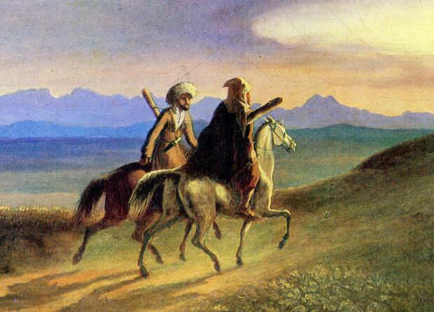 Картина М.Ю. Лермонтова. 1838 г.