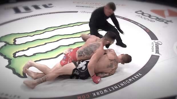 Bellator показал на видео самые быстрые нокауты в истории промоушена