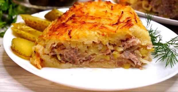 Картофельно-мясная запеканка «Харя»: очередной шедевр кулинарии