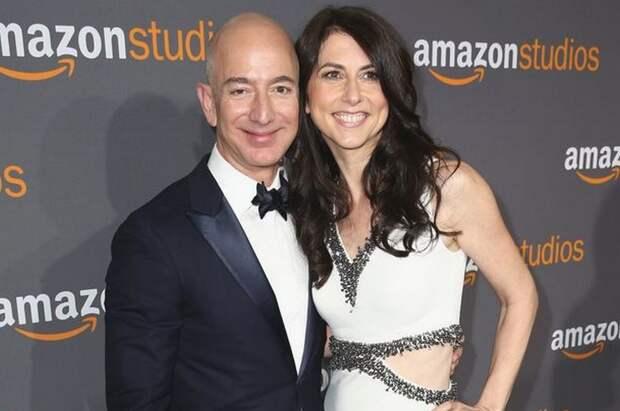 Генеральный директор Amazon Джефф Безос разводится