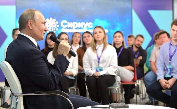 Путин пообещал подумать над вопросом взносов за охрану в школах