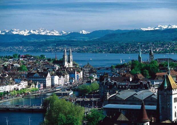 Цюрих — самый большой город Швейцарии