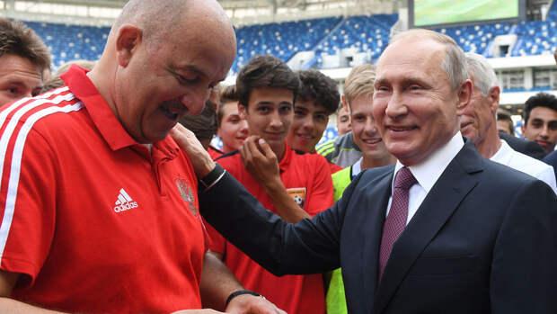 Россияне предложили разогнать сборную или поставить тренером Путина