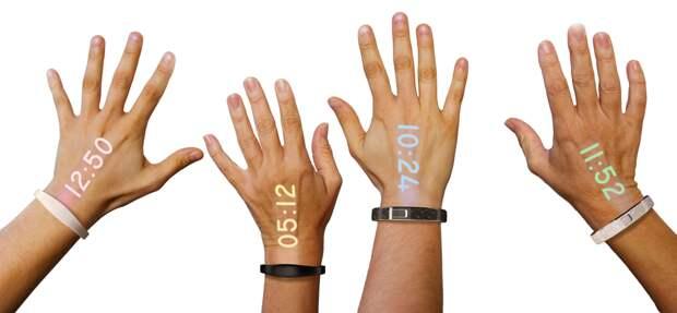 На Indiegogo собирают средства на первые наручные часы проектор