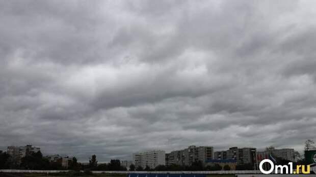 Летающие остановки и деревья. Омичи показали последствия ураганного ветра в городе
