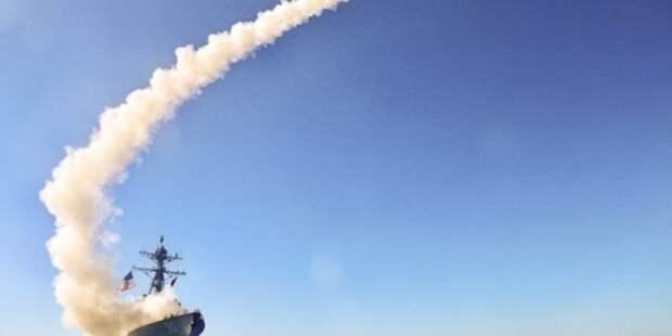 Русские моряки вытеснили эсминец США со своей территории. Официальное заявление