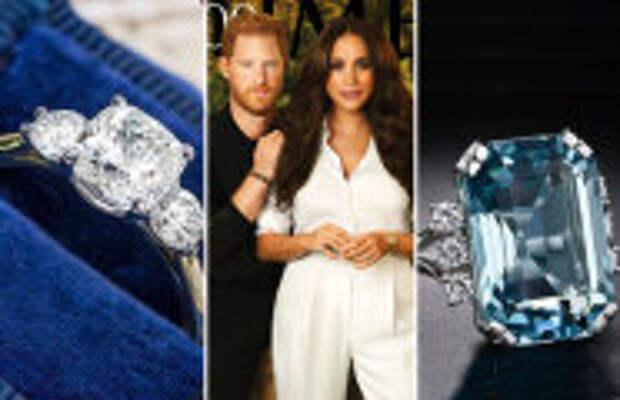 Fashion: 8 любимых украшений Меган Маркл: Бриллианты леди Ди, серьги с плохой историей и др.