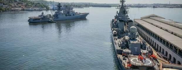 База российских ВМФ на Кубе. Источник изображения: