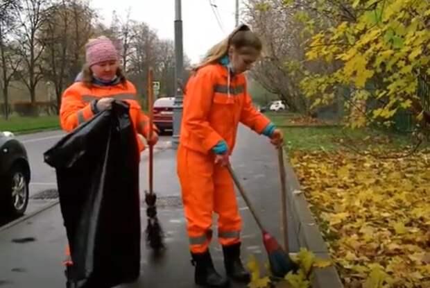 Видео: как работают дворники в СВАО