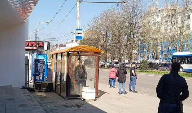 Одну изпропавших остановок вернули наплощадь Ленина вРостове
