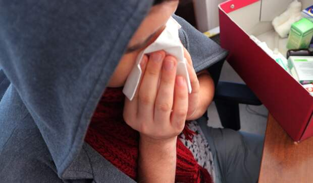 Дети в Оренбуржье стали чаще заболевать ОРВИ