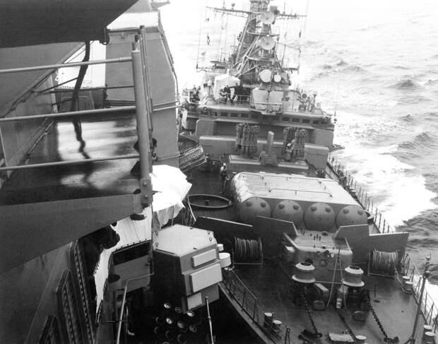 USS Yorktown Soviet navy collision Black Sea