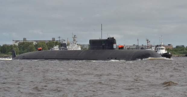 Носитель «Посейдона» АПЛ «Белгород» вышла на морские испытания