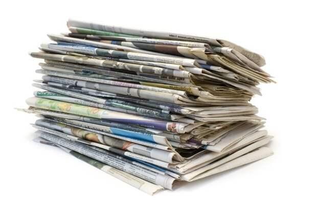 Как использовать старые газеты и журналы на даче