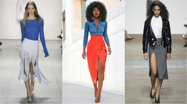 модные весенние юбки