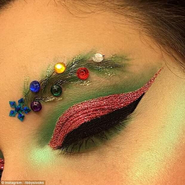 И макияж «в гамме».