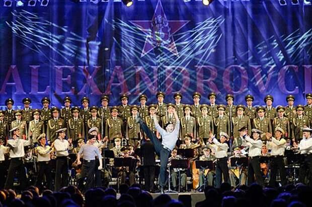Ансамбль имени Александрова даст 23 февраля два концерта