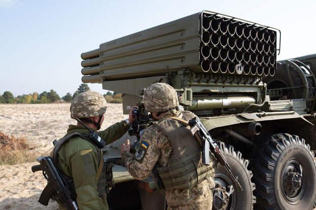 """Украинские """"Грады"""" могут вооружить термобарическими снарядами"""