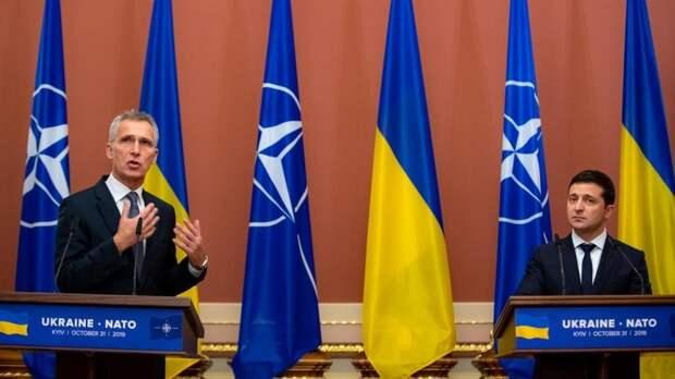 Агрессивный настрой Киева сочли угрозой для НАТО