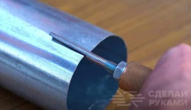 Как уменьшить диаметр круглой трубы из тонколистового металла