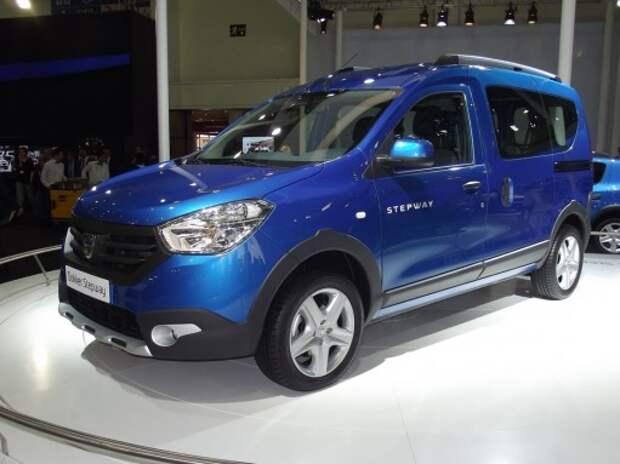 Renault везет в Париж вседорожные Lodgy, Dokker и новый Espace