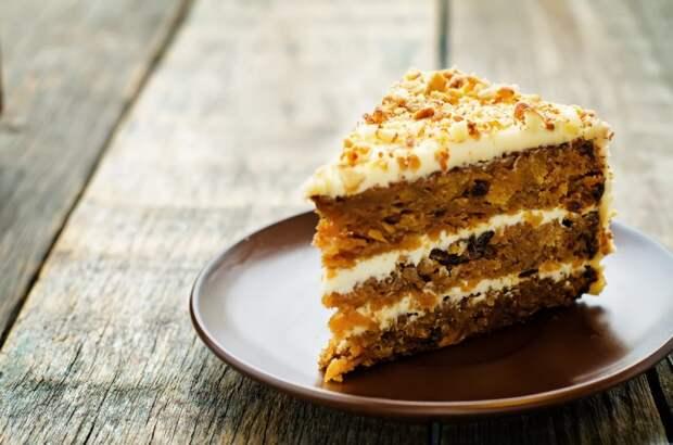 Рецепт полезного морковного торта